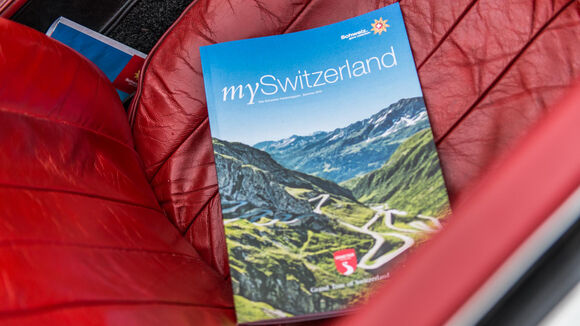 On the Grand Tour of Switzerland the journey is the goal.